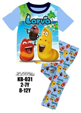 @  HAPPYKIDS SLEEPWEAR ( K/KB - 031 )  ** LAST SET 6Y **