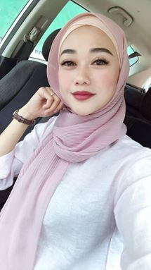 SHAWL CHIFFON CRUSH HALF PLEATED (LELONG)