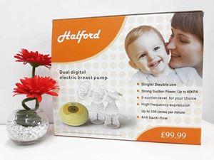 HALFORD DOUBLE BREASTPUMP