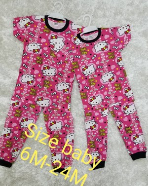 PYJAMAS SEDONDON HELLO KITTY PINK