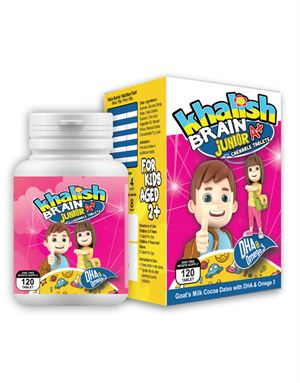 Agent Diamond, Khalish Brain A+ for Junior, 12 bottles / 2 display box