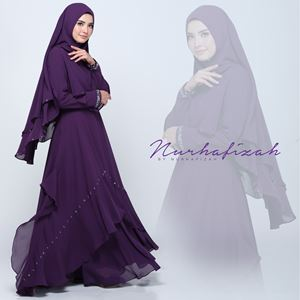 JUBAH JANNAH (DARK PURPLE)