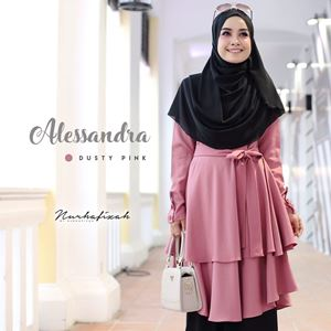 ALESSANDRA TUNIC (DUSTY PINK)