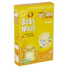 Love Earth Organic Sprouted Brown Rice Baby Meal Original 6+ Months 6 Sachets x 20g (120g)
