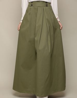 ALICE SKIRT IN ARMY GREEN