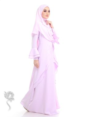WAHIDAH JUBAH - SOFT PURPLE
