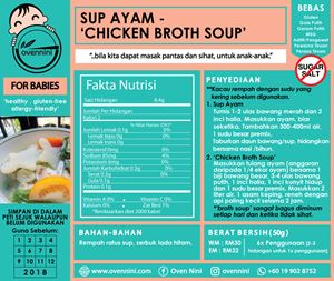 Baby - Sup Ayam Kentang - Broth Soup