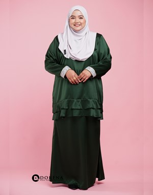 Kurung Nabeela (Green)