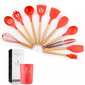 12 KITCHEN TOOLS - RED