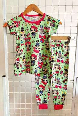Pyjamas LOL MINT GREEN  : BABY size 18m -24m (MYSHA)