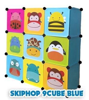 SKIPHOP BLUE 9C DIY WARDROBE (SK9B)