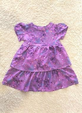 Kids Dress MIX STAR PURPLE : (1y - 6y) SEFA