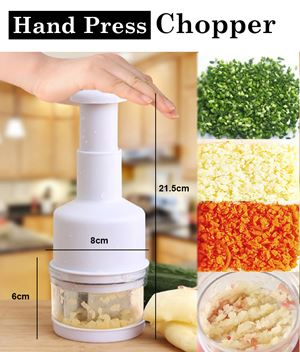 Hand Press Food Processor Chopper eta 3/6