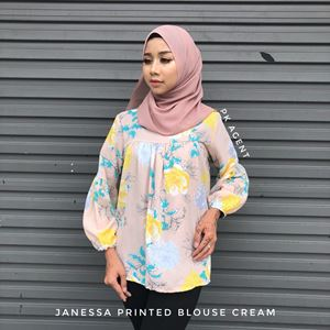 JANESSA PRINTED BLOUSE