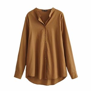 BASIC BROWN PLAIN TOP