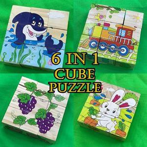 6 IN 1 CUBE PUZZLE