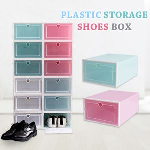 PLASTIC STORAGE SHOE BOX