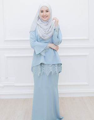 SARAH MODERN KURUNG IN DUSTY MINT