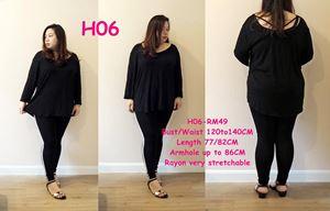 H06 * Bust 47-55inch (120-140cm)