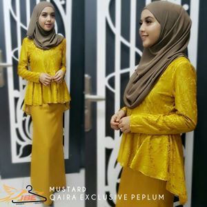 QAIRA EXCLUSIVE PEPLUM