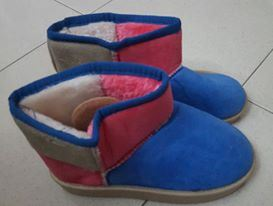 @  PINK BLUE  BOOTS