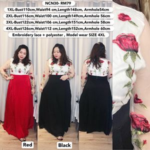NCN30 *Bust 44 to 49 inch/ 110-126cm
