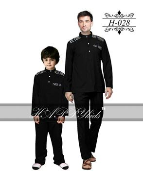 HAPPYkids 2017 Songket Exclusive MAN ( BLACK )