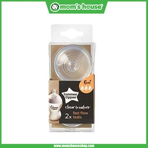 TOMMEE TIPPEE FAST FLOW 6M+ 2x TEATS (CLOSER TO NATURE)