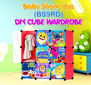 Baby Shark Doo RED 9C DIY WARDROBE (BS9RD)