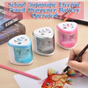 School Automatic Electric Pencil Sharpener Battery Operated
