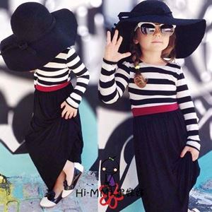 @  GIRL STRIPE DRESS