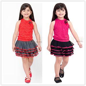 @  XZ5088  PINK DRESS. ( SIZE 100-140 )