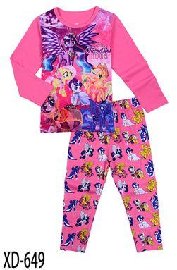 CALUBY XD-649 Kids Pyjama (2-7 tahun)