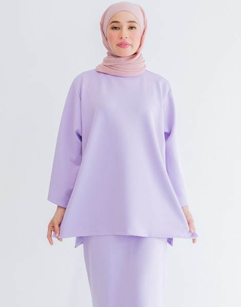 THALIA TOP IN LILAC