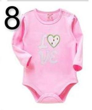 @  BABY ROMPER  8 -  PINK LOVE  ( 18M & 24M   )