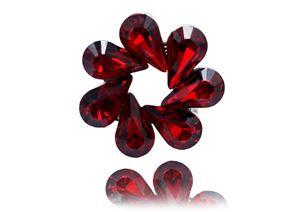 Brooch Dahlia Classic Red Siam