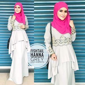 Fishtail Hanna Grey