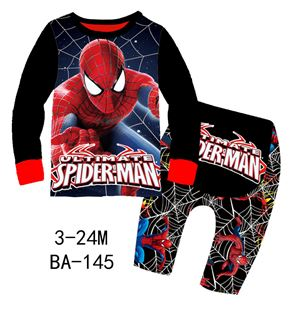 BA-145 'Spiderman' Pyjamas (3M-24M)
