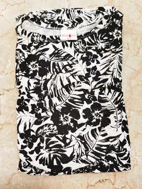 Princess Dress V2 : BLACK HIBISCUS, size 4-6
