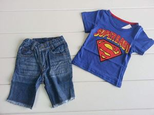 @  SUPERMAN  BOY SET ( TOP + JEAN )