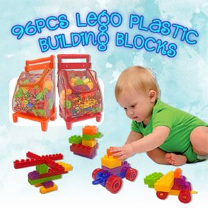 96Pcs LEGO TROLLEY BAG