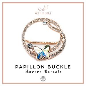 Buckle Papillon Aurore Boreale
