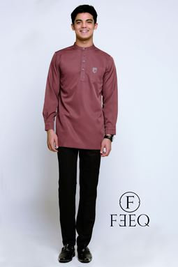 KURTA FEEQ (RED BROWN)