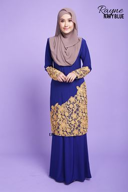 RAYNE LACE SERIES- NAVY BLUE