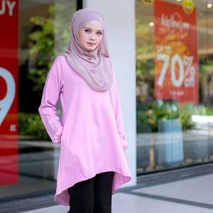 BLOUSE FELISHA - SEASHELL PINK