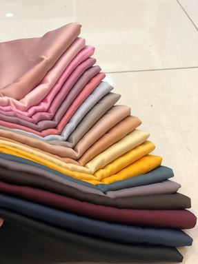 SHAWL SATIN MATTE SILK