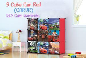 CARS RED 9C DIY WARDROBE (CAR9R)
