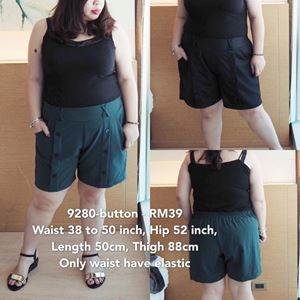 9280- button Ready Stock  *Waist 38 to 50 inch