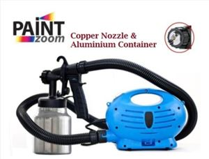 Paint Zoom Plus Electric Paint Spray Gun Upgraded Copper & ALUContainer