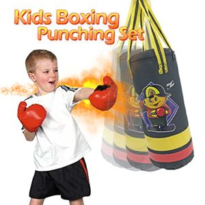 KIDS BOXING PUNCHING SET